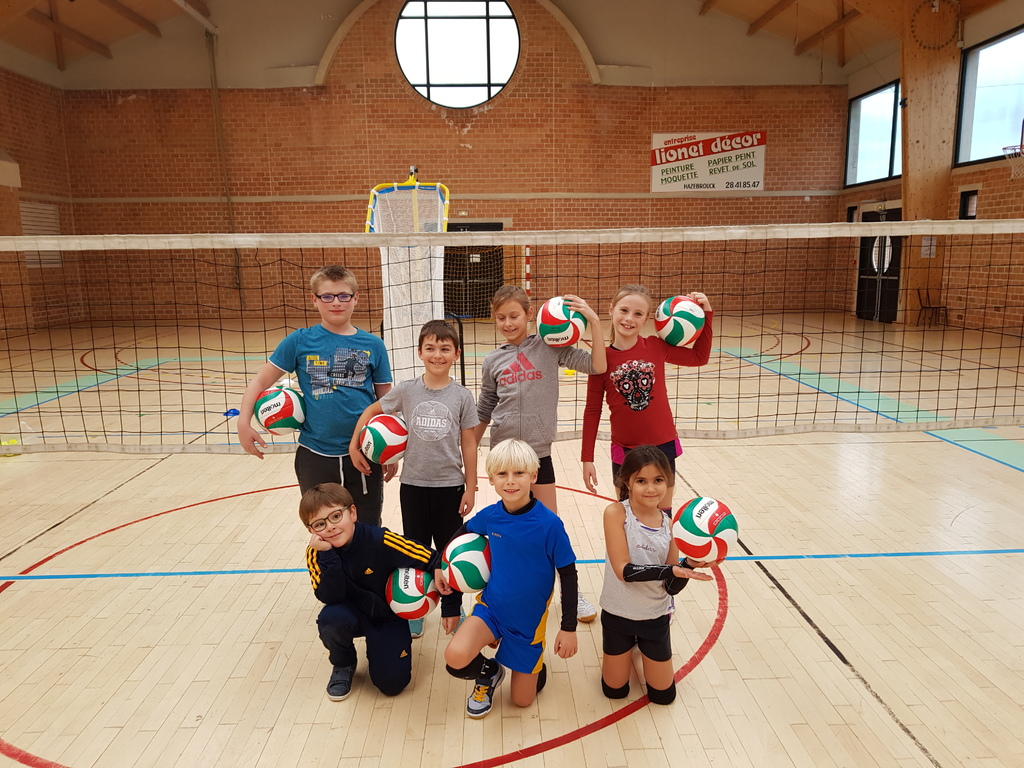 Papier Peint Lionet Hazebrouck chouette de nouveaux ballons ! - volley ball hazebrouck
